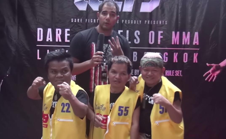 JP Mestanza TV Presenting at MMA in Bangkok