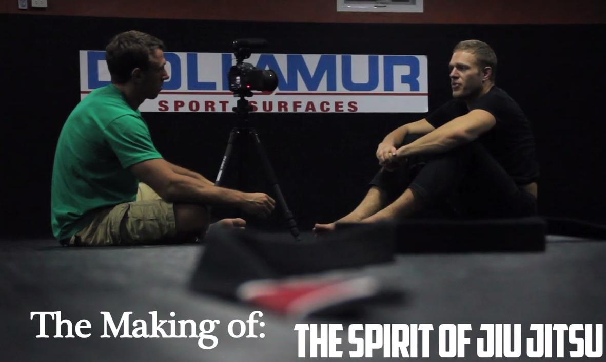 Making of Spirit of Jiu Jitsu, JP Mestanza Stuart Cooper Nic Gregoriades