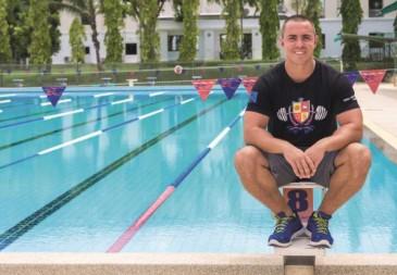 Chris Gaffney - Swimming - Photo BISP Thailand